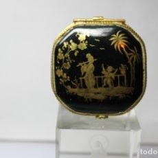Antigüedades: CAJA DE PORCELANA LE TALLEC DE LIMOGES. Lote 182773458