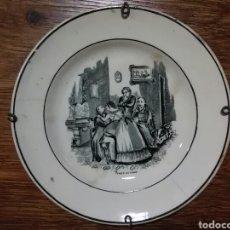 Antigüedades: PLATO ROMANTICO AMOR DE PADRE.. Lote 182797500