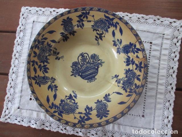 Antigüedades: Ceramica San Juan siglo XIX serie India - Foto 2 - 182798578
