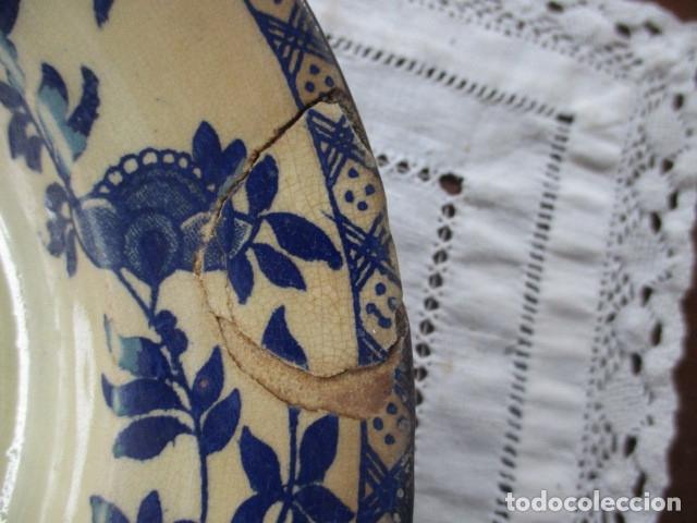 Antigüedades: Ceramica San Juan siglo XIX serie India - Foto 3 - 182798578