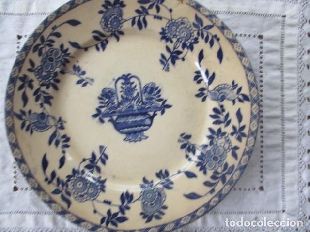 Antigüedades: Ceramica San Juan siglo XIX serie India - Foto 5 - 182798578