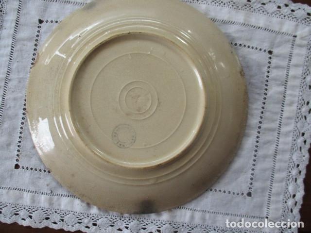 Antigüedades: Ceramica San Juan siglo XIX serie India - Foto 6 - 182798578
