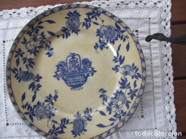 Antigüedades: Ceramica San Juan siglo XIX serie India - Foto 7 - 182798578