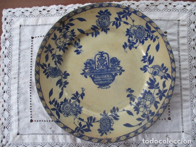 Antigüedades: Ceramica San Juan siglo XIX serie India - Foto 8 - 182798578
