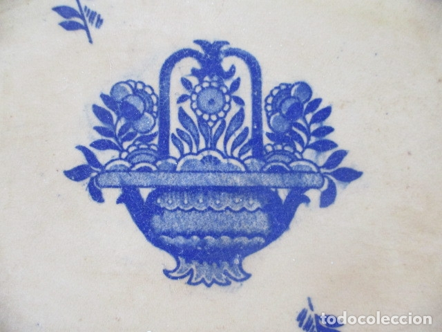 Antigüedades: Ceramica San Juan siglo XIX serie India - Foto 11 - 182798578