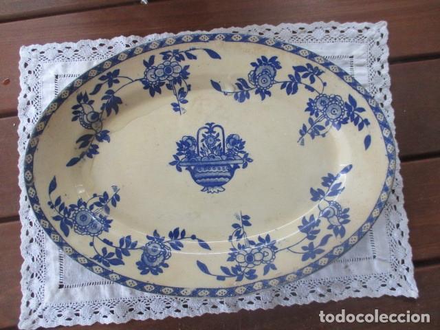 Antigüedades: Ceramica San Juan siglo XIX serie India - Foto 15 - 182798578