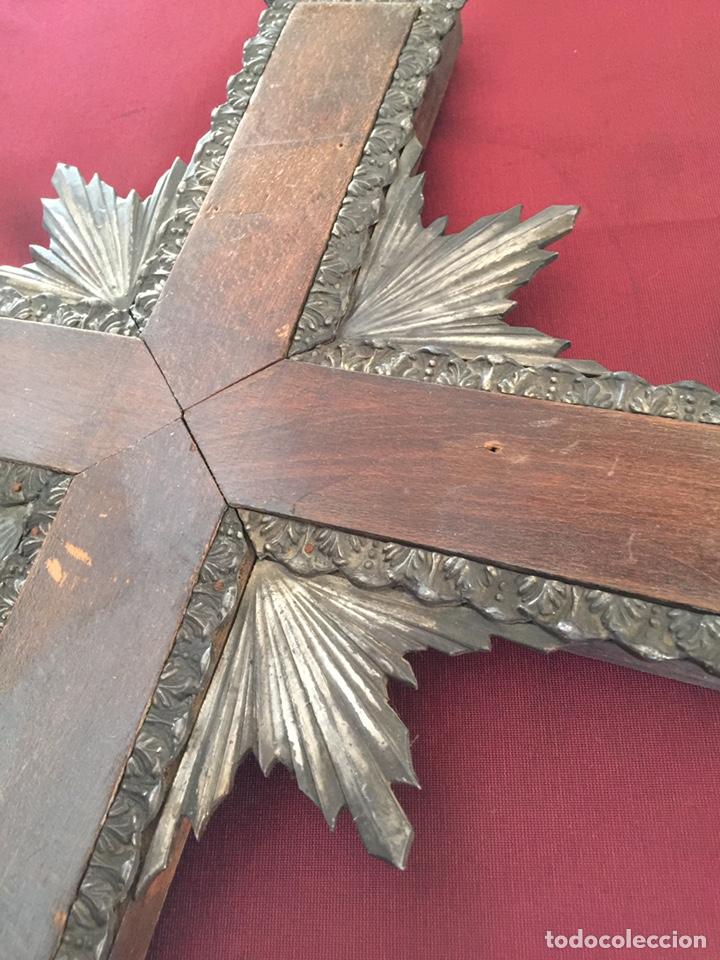 Antigüedades: Muy antigua Cruz de iglesia - Foto 2 - 182800330
