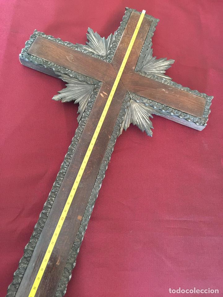 Antigüedades: Muy antigua Cruz de iglesia - Foto 5 - 182800330
