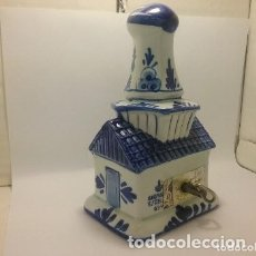 Antigüedades: PRECIOSA MOLINO MUSICAL PORCELANA DELFTS. Lote 182806060