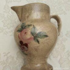 Antigüedades: ANTIGUA JARRA DE PORCELANA DE VALDEMORILLO, PINTADA A MANO, MEDIADOS SIGLO XIX. Lote 182813688