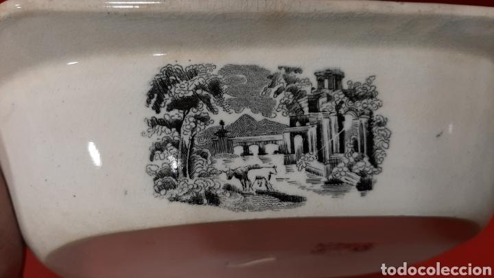 Antigüedades: ANTIGUA FUENTE OCHAVADA DE CARTAGENA, VALARINO. ESCENA DE CAZA. - Foto 6 - 182848497