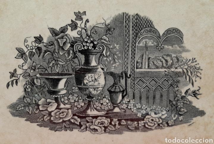 Antigüedades: FUENTE OCHAVADA DE CARTAGENA, VALARINO. - Foto 2 - 182850617