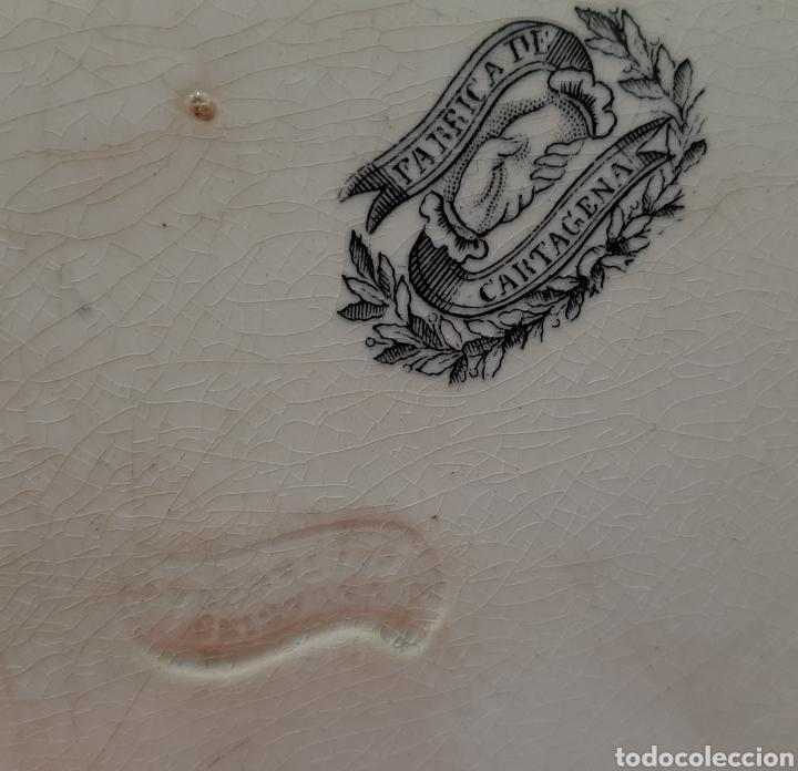Antigüedades: FUENTE OCHAVADA DE CARTAGENA, VALARINO. - Foto 4 - 182850617
