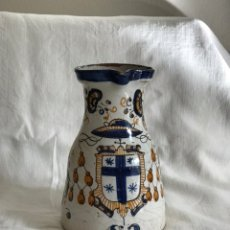 Antigüedades: JARRA TALAVERA TRICOLOR S.XX. Lote 182855292