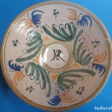Antigüedades: PLATO DE CERAMICA. 22 CTMS DE DIAMETRO. Lote 182864573