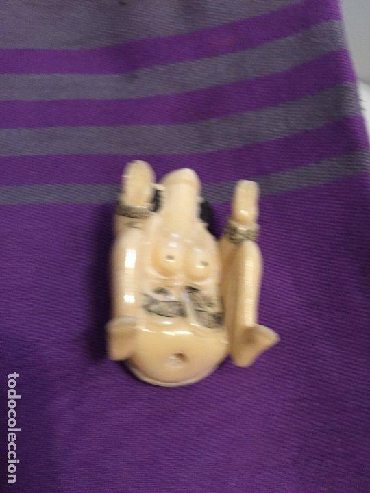 Antigüedades: FIGURAS DE KAMASUTRA DE HUESO - Foto 6 - 182890301