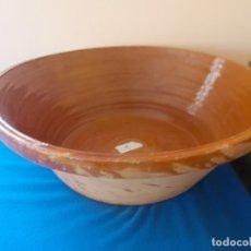 Antigüedades: LEBRILLO O BARREÑO ANTIGUO ( 1 ). Lote 182907451