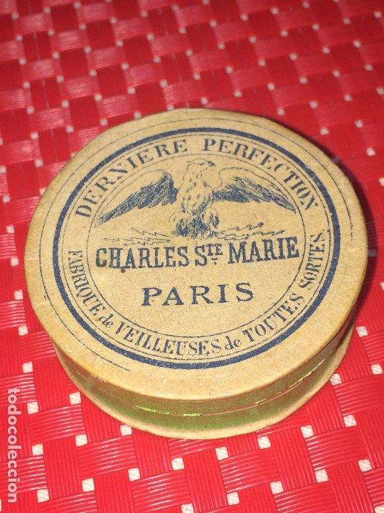 CAJITA DE MARIPOSAS - CHARLES STE. MARIE - PARIS - AÑOS 30 - COMPLETA (Antigüedades - Religiosas - Varios)