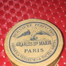 Antigüedades: CAJITA DE MARIPOSAS - CHARLES STE. MARIE - PARIS - AÑOS 30 - COMPLETA. Lote 182909086