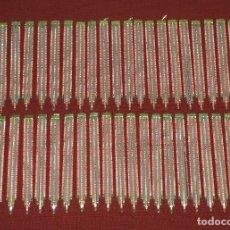 Antigüedades: LOTE DE 47 LÁGRIMAS PARA LÁMPARA. Lote 181563830