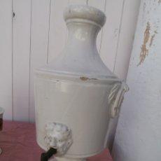 Antigüedades: AGUAMANIL EN CERAMICA DE ALCORA ,SERIE BLANCA ,FINES DEL SIGLO XVIII. Lote 182953210