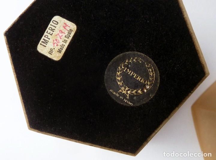 Antigüedades: ANTIGUA BOMBONERA COPA DE MARMOLINA DISEÑO CLÁSICO MARCA IMPERIO VALENCIA ESPAÑA VINTAGE AÑOS 70 - Foto 5 - 52965869