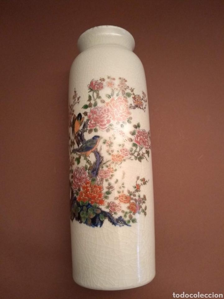 Antigüedades: Jarron Porcelana Japonesa - Foto 3 - 182962273