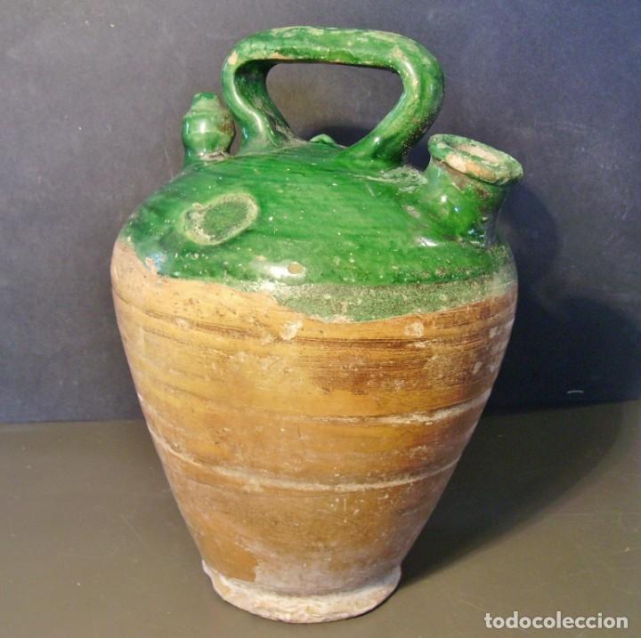 Antigüedades: ROTUNDO BOTIJO DE TERRISSA CATALANA XX - Foto 6 - 182974590