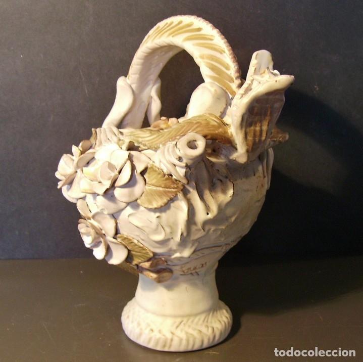 Antigüedades: ROTUNDO Y CREATIVO BOTIJO CERÁMICA CATALANA DE BREDA XX - Foto 4 - 182974667