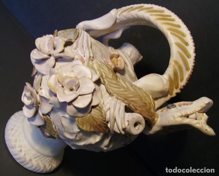 Antigüedades: ROTUNDO Y CREATIVO BOTIJO CERÁMICA CATALANA DE BREDA XX - Foto 9 - 182974667