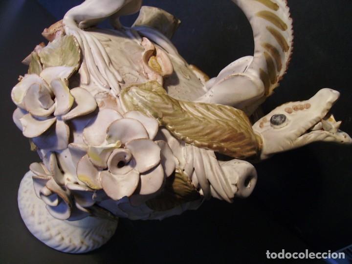 Antigüedades: ROTUNDO Y CREATIVO BOTIJO CERÁMICA CATALANA DE BREDA XX - Foto 14 - 182974667