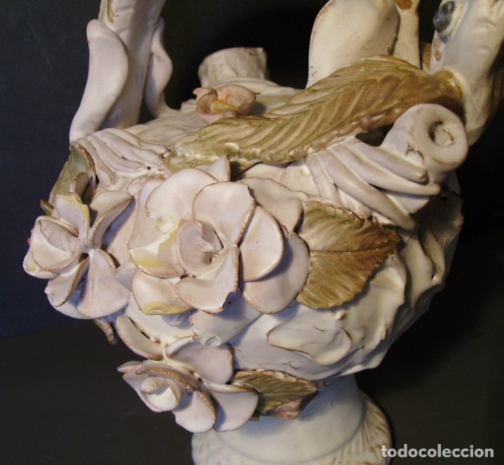 Antigüedades: ROTUNDO Y CREATIVO BOTIJO CERÁMICA CATALANA DE BREDA XX - Foto 16 - 182974667