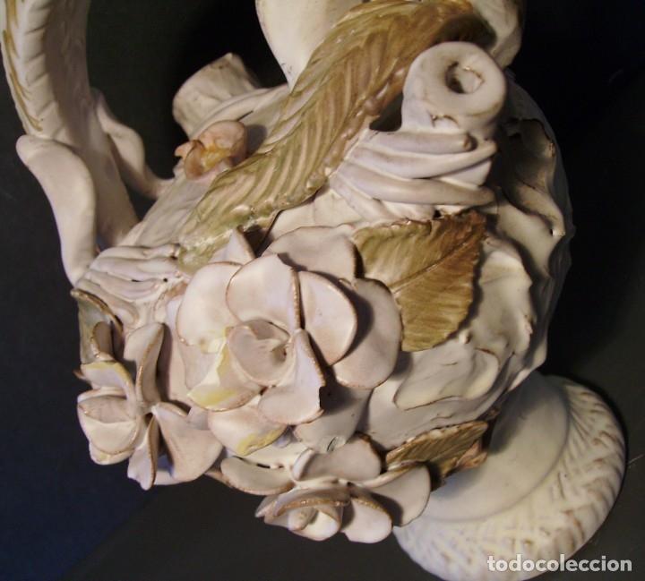 Antigüedades: ROTUNDO Y CREATIVO BOTIJO CERÁMICA CATALANA DE BREDA XX - Foto 17 - 182974667
