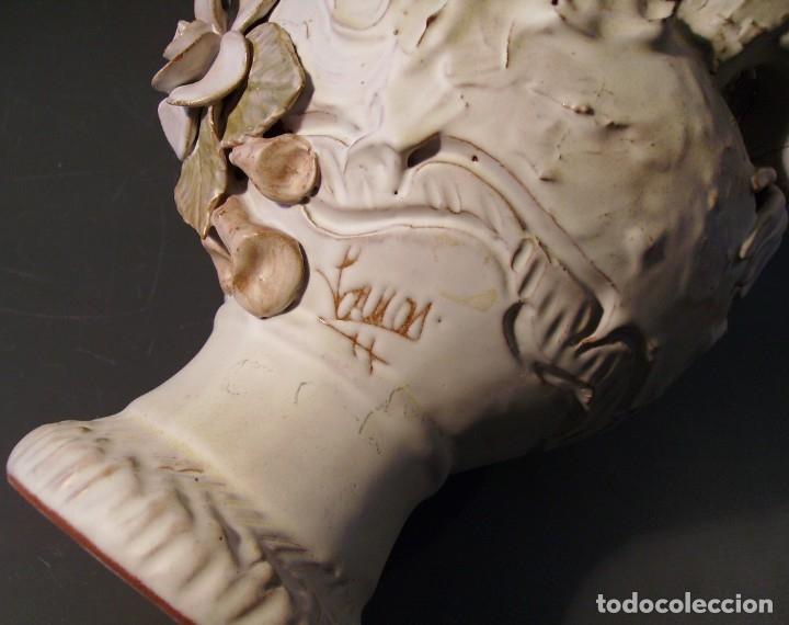 Antigüedades: ROTUNDO Y CREATIVO BOTIJO CERÁMICA CATALANA DE BREDA XX - Foto 22 - 182974667