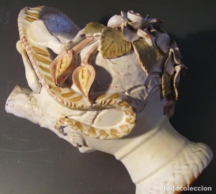 Antigüedades: ROTUNDO Y CREATIVO BOTIJO CERÁMICA CATALANA DE BREDA XX - Foto 27 - 182974667