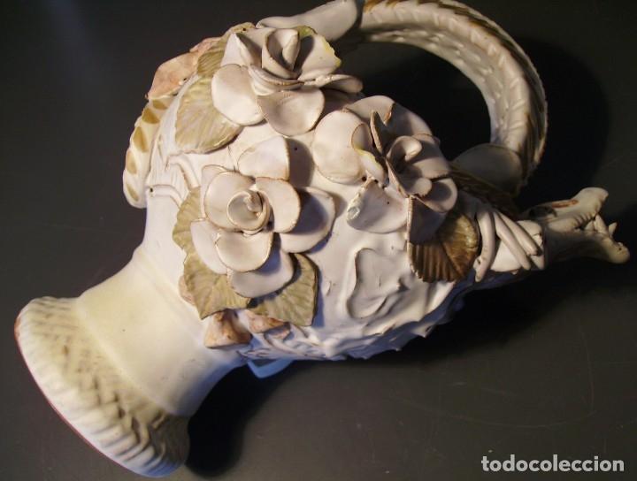 Antigüedades: ROTUNDO Y CREATIVO BOTIJO CERÁMICA CATALANA DE BREDA XX - Foto 28 - 182974667