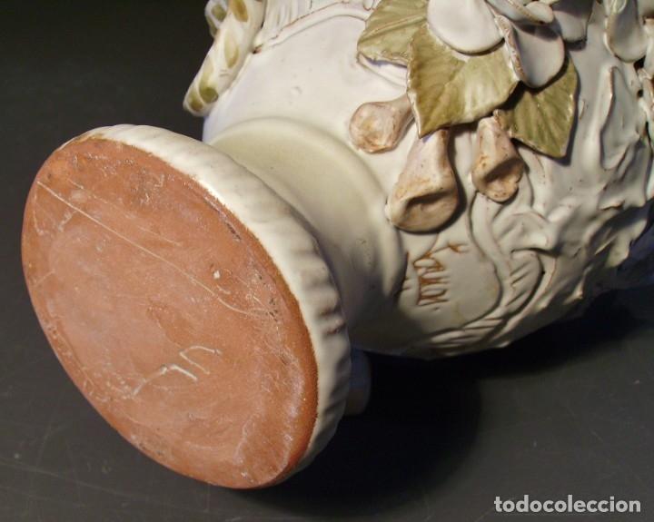 Antigüedades: ROTUNDO Y CREATIVO BOTIJO CERÁMICA CATALANA DE BREDA XX - Foto 29 - 182974667