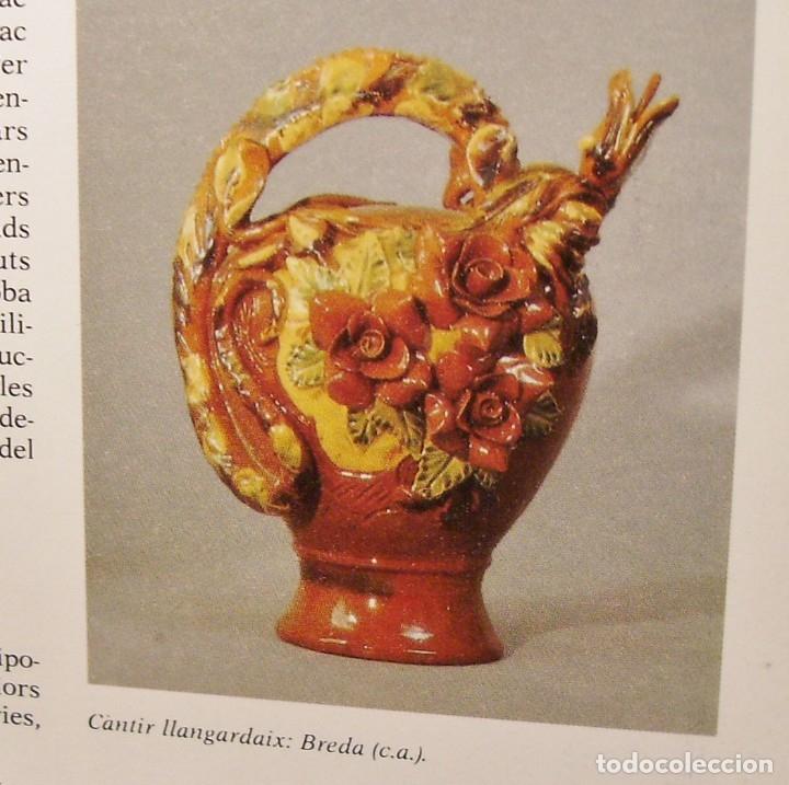 Antigüedades: ROTUNDO Y CREATIVO BOTIJO CERÁMICA CATALANA DE BREDA XX - Foto 32 - 182974667