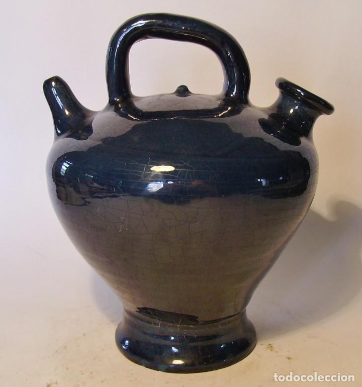 BOTIJO TERRISSA CATALANA (Antigüedades - Porcelanas y Cerámicas - Catalana)