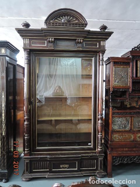 VITRINA RUSA (Antigüedades - Muebles Antiguos - Vitrinas Antiguos)