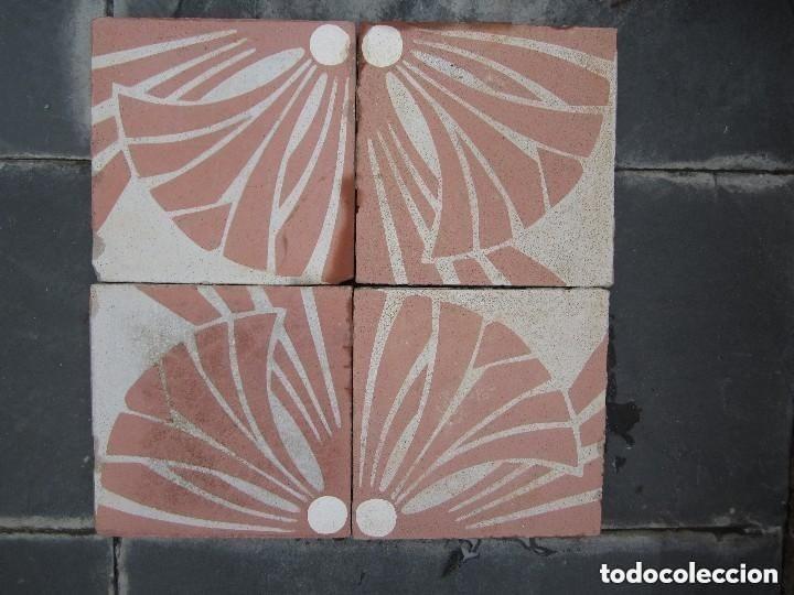 Antigüedades: Friso 4 Antigua baldosa hidraulica Catalana - Foto 5 - 182992292