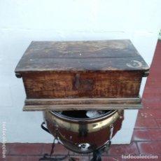 Antigüedades: BAÚL, SIGLO XIX, MADERA, . Lote 182995251