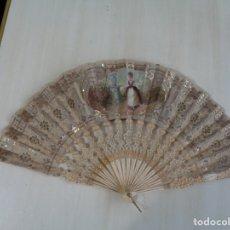 Antigüedades: PRECIOSO Y ORIGINAL ABANICO ANTIGUO S.XIX. Lote 182997930