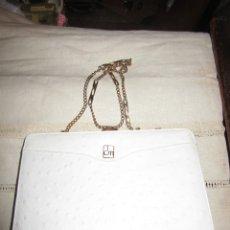 Antigüedades: BOLSO DE PIEL. Lote 183004863