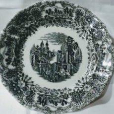 Antigüedades: VAJILLA LA CARTUJA DE SEVILLA PICKMAN 28 PIEZAS. Lote 183016820