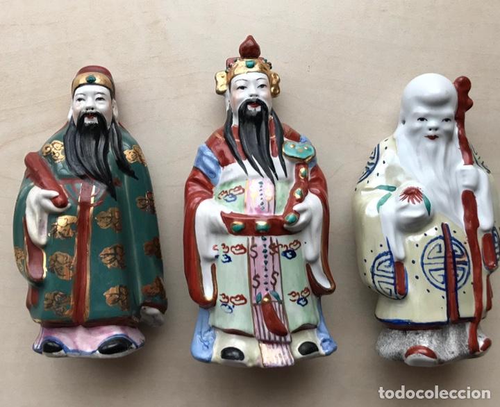FIGURAS DE PORCELANA CHINA (Antigüedades - Porcelanas y Cerámicas - China)