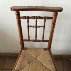 Antigüedades: SILLA/RECLINATORIO . Lote 183019335