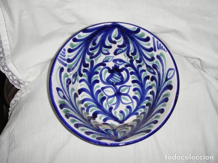 PLATO O LEBRILLO DE FAJALAUZA. S.XX. (Antigüedades - Porcelanas y Cerámicas - Fajalauza)