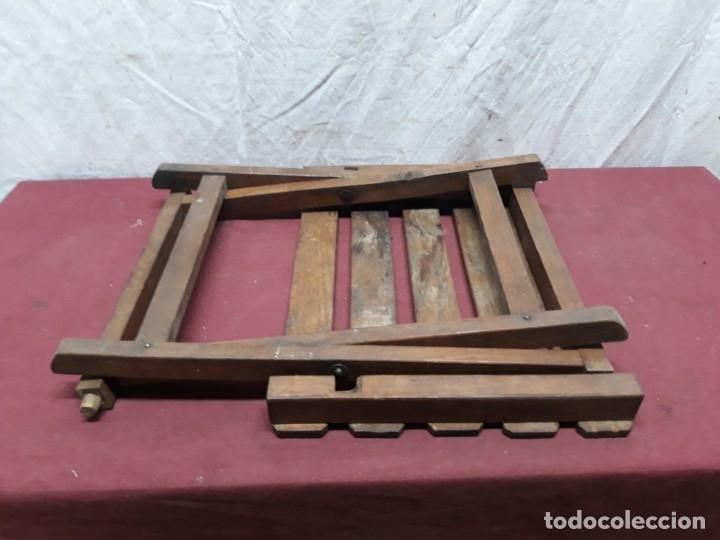 Antigüedades: SILLA PLEGABLE... - Foto 4 - 183030652