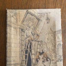 Antigüedades: TAPIZ COSTUMBRISTA. Lote 183038166